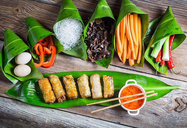 speisekarte, essen, asiatisch